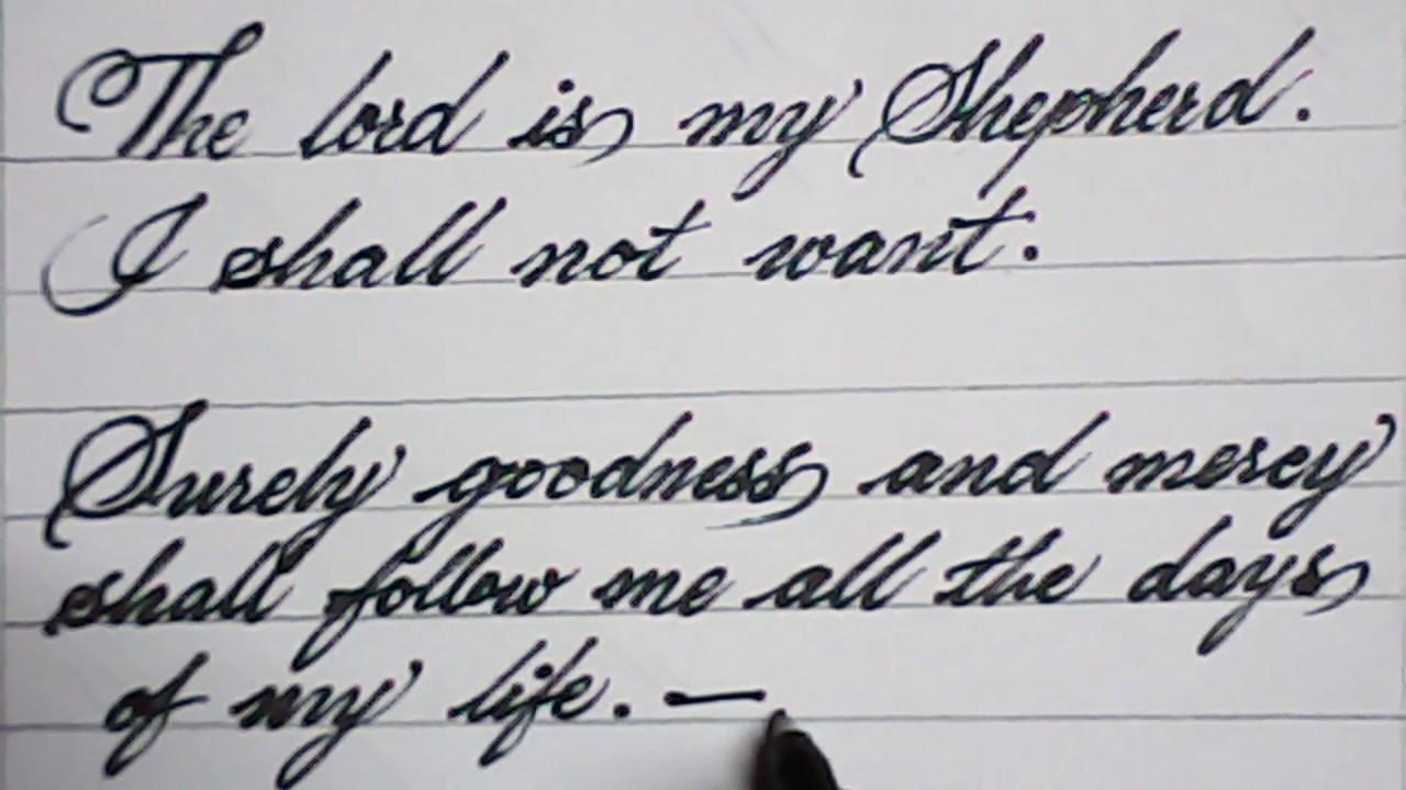 good_handwritting